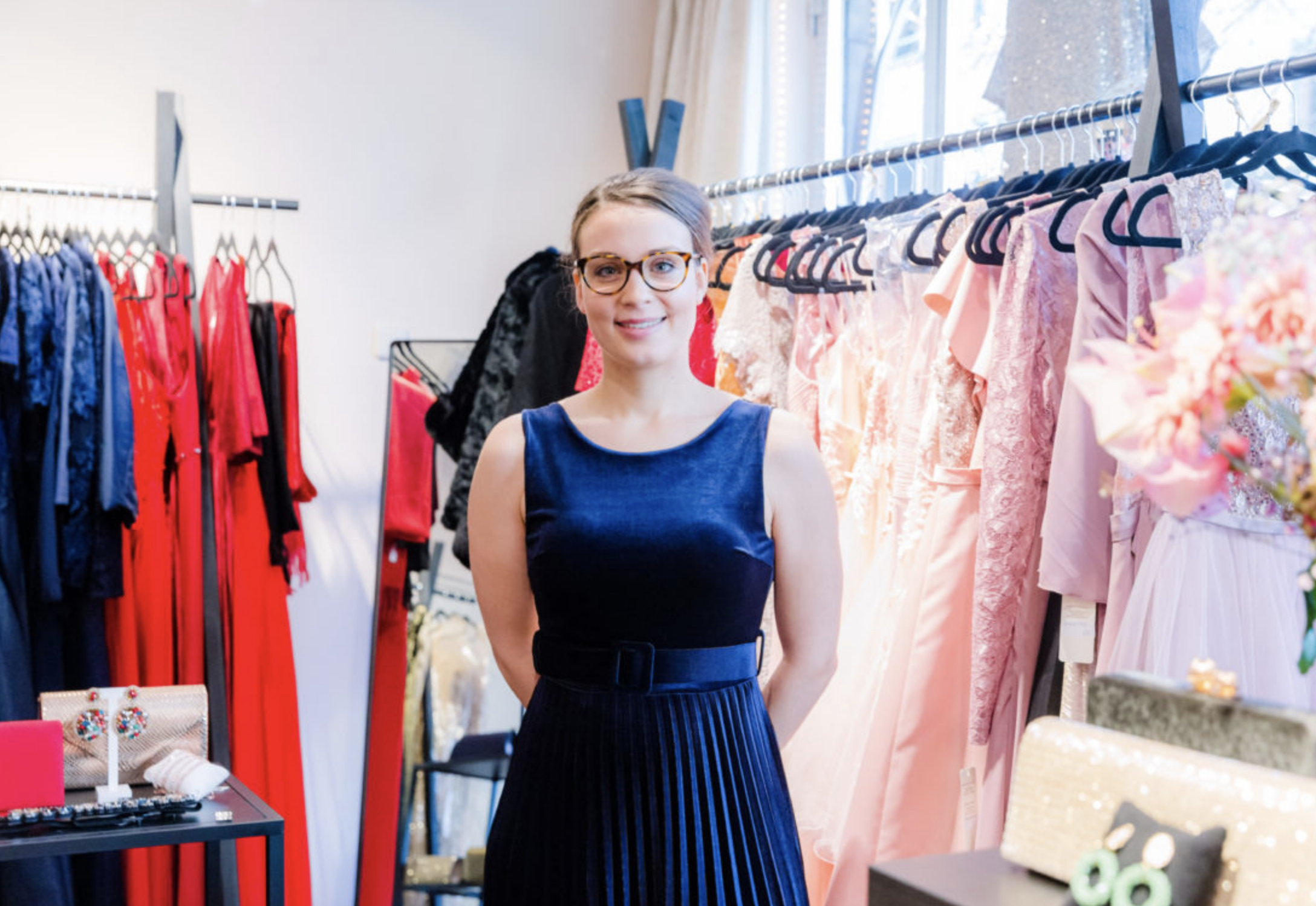 Velvet Dream Dresses is een initiatief van Fleur van Hooren